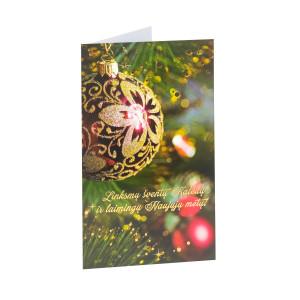 Kalėdinis atvirukas su voku